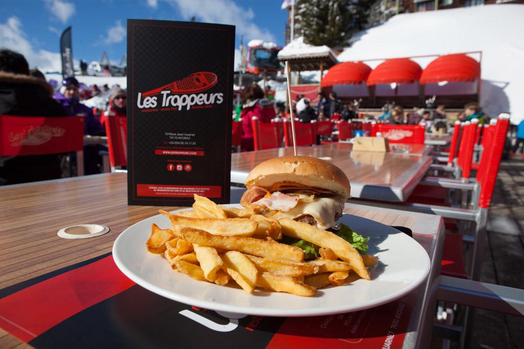 Restaurant Les Trappeurs Avoriaz