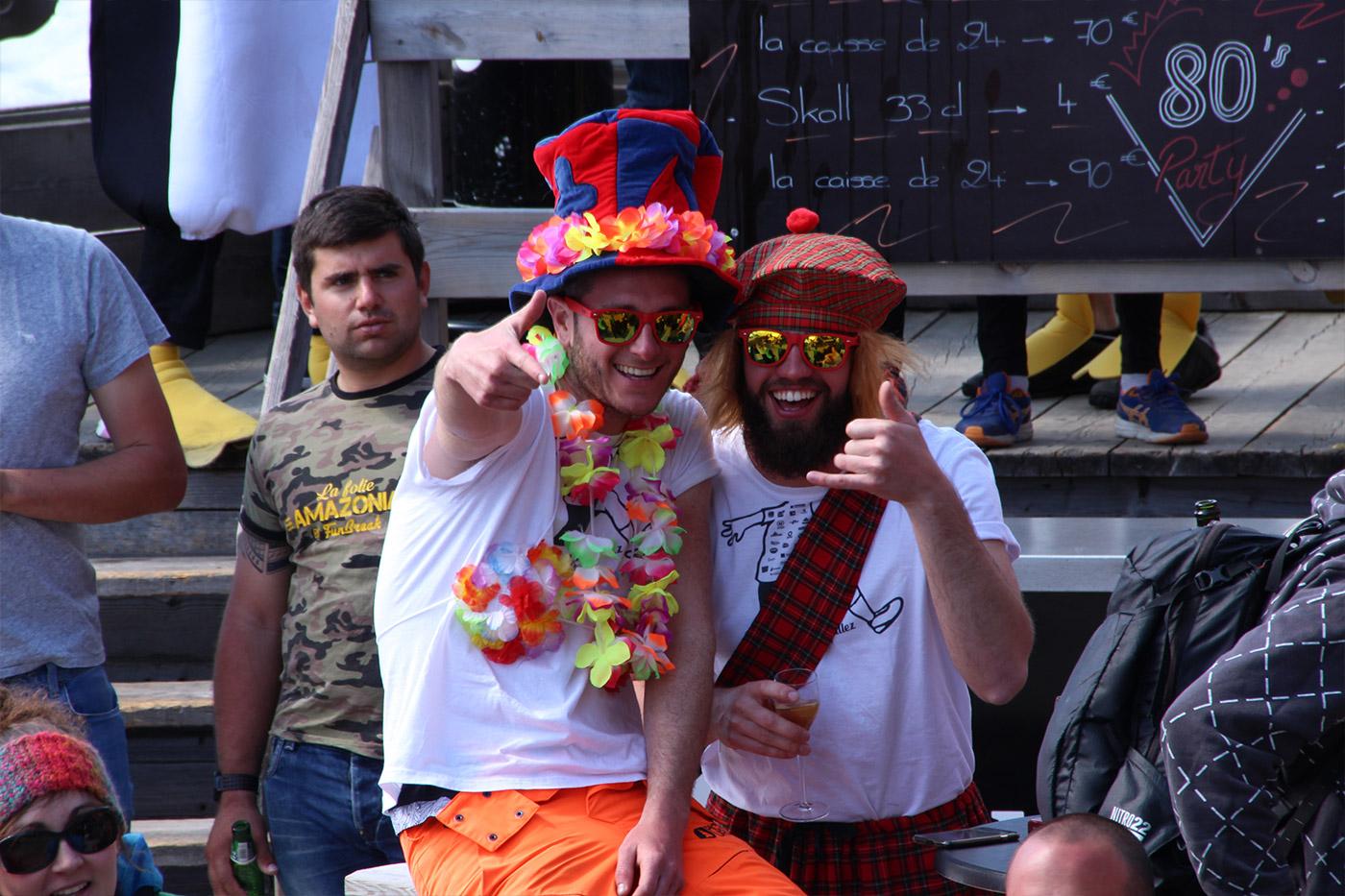 80's Party, Les Trappeurs, Avoriaz