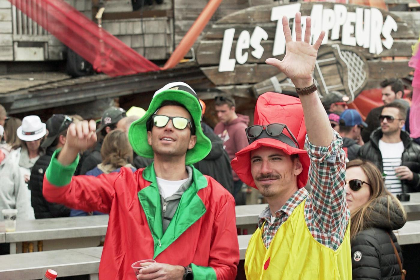 Closing Party, Les Trappeurs Avoriaz